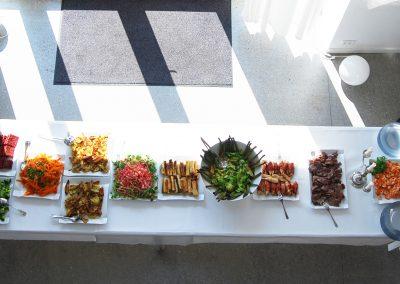Buffet kan være en mulighed, men vi serveres helst portionsanrettet mad.